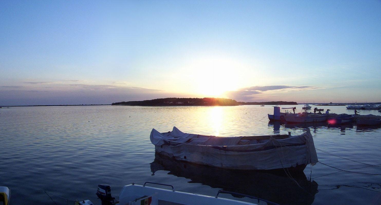 Tramonto su Porto Cesareo
