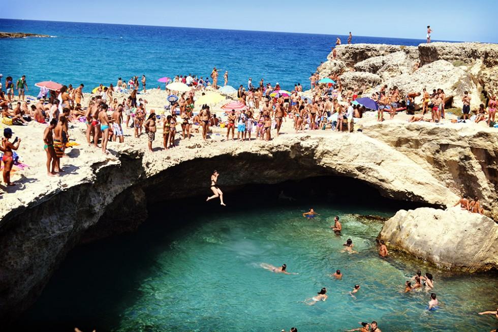 Grotta della Poesia - Roca Vechia/ S.S. San Cataldo-Otranto