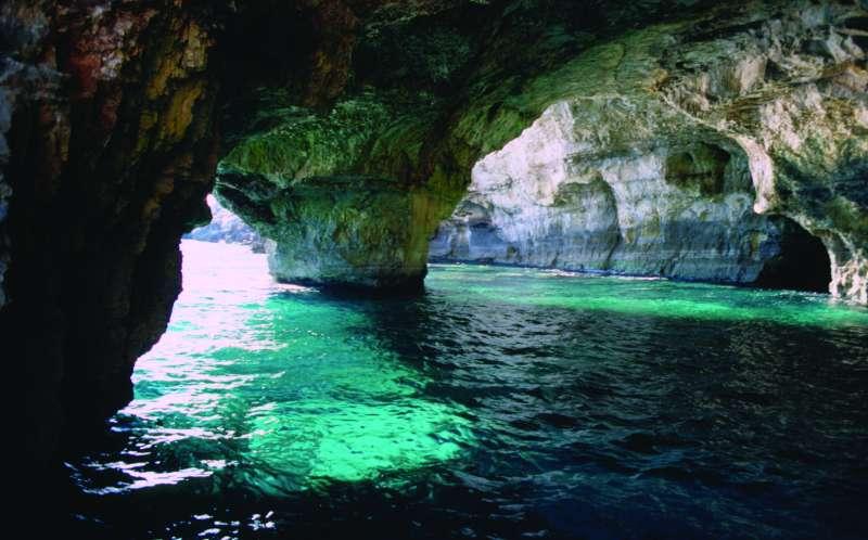 Grotta Verde Andrano Marina/ via Lungomare delle Agavi