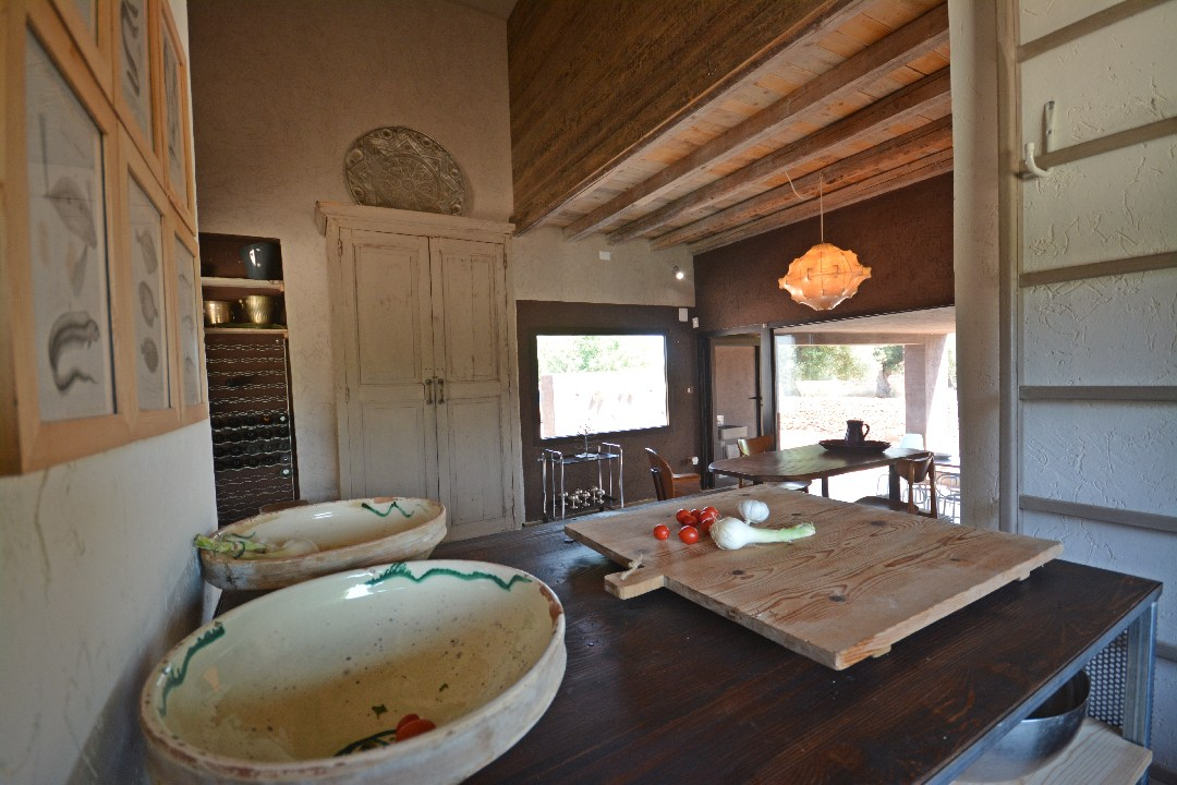 Villa Caroma, interior kitchen - booking@salentodolcevita.com