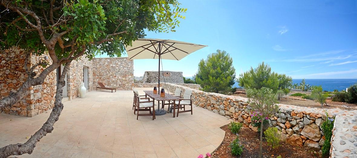 Villa le tre porte guest house furnished sea view Terrace (12)_0