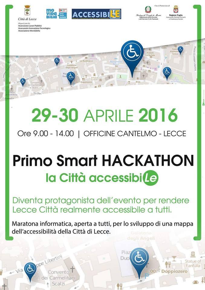 smart hackathon la città accessibiLE