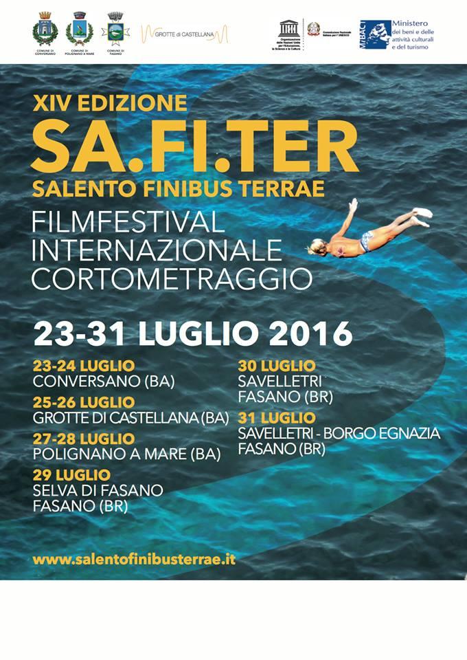 locandina del festival salento finibus terrae 2016