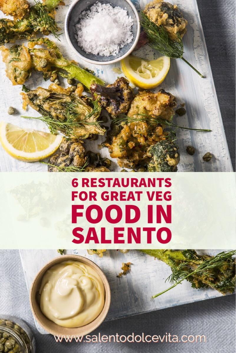 6 restauratnts for great veg food in salento