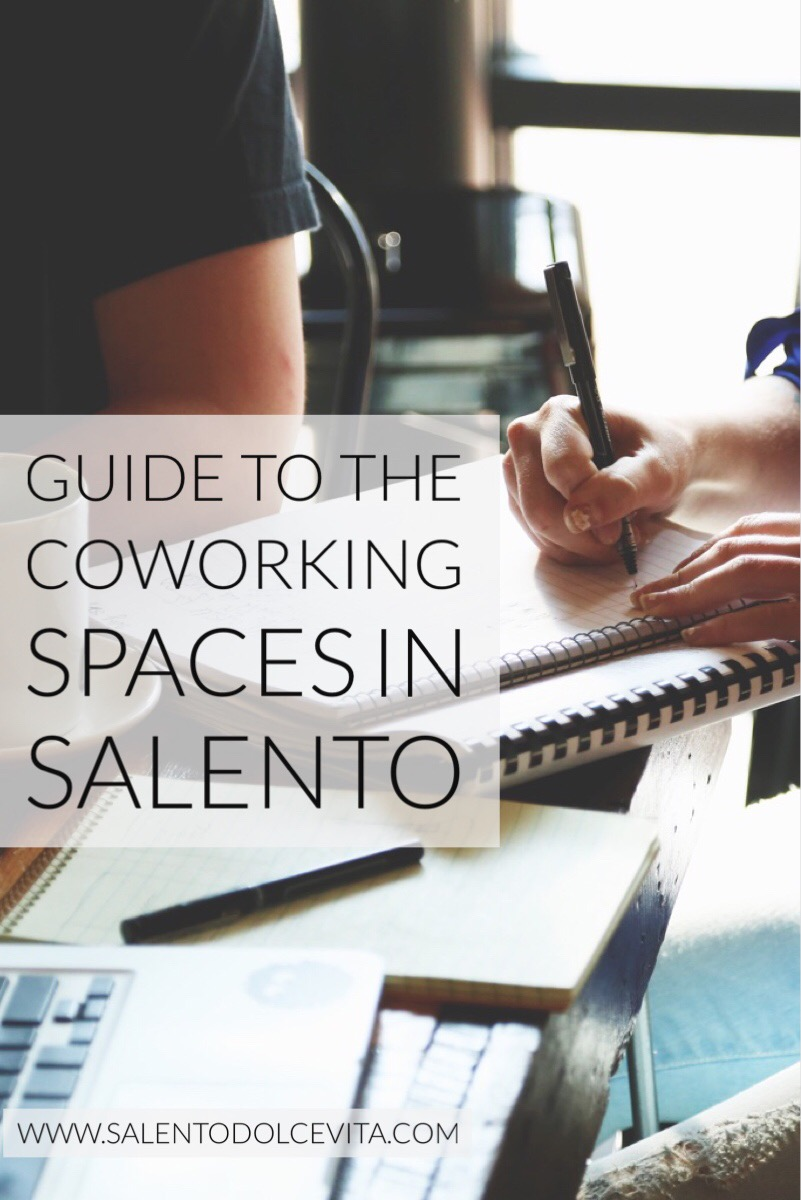 Guide to the coworking spaces in Salento - salentodolcevita