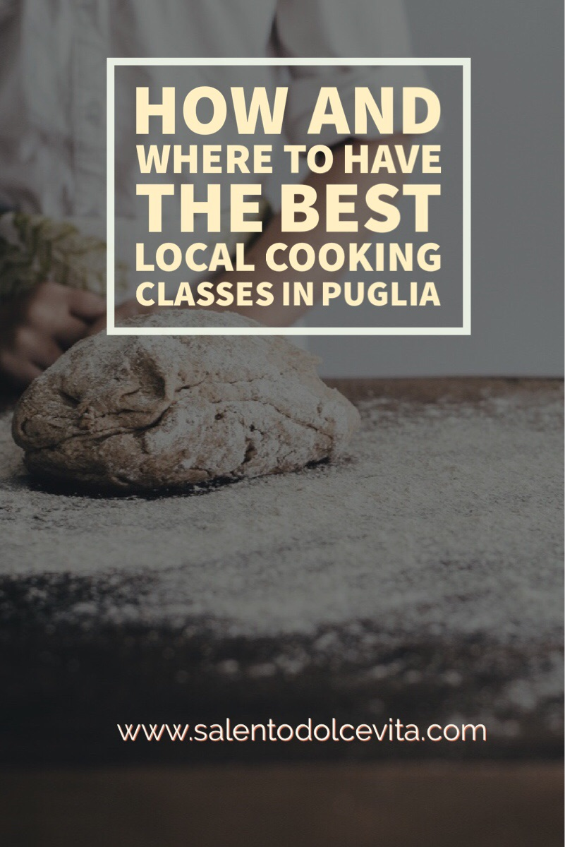 where and how to attend a local cuisine cooking class in Puglia
