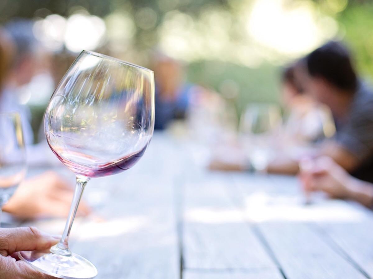 degustazione vino nel Salento