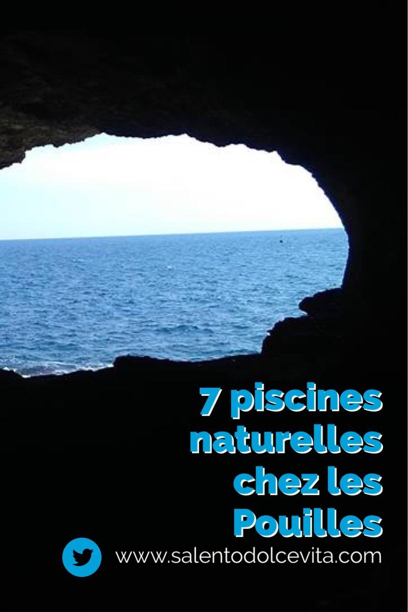 7 piscines naturelles à voir chez les Pouilles