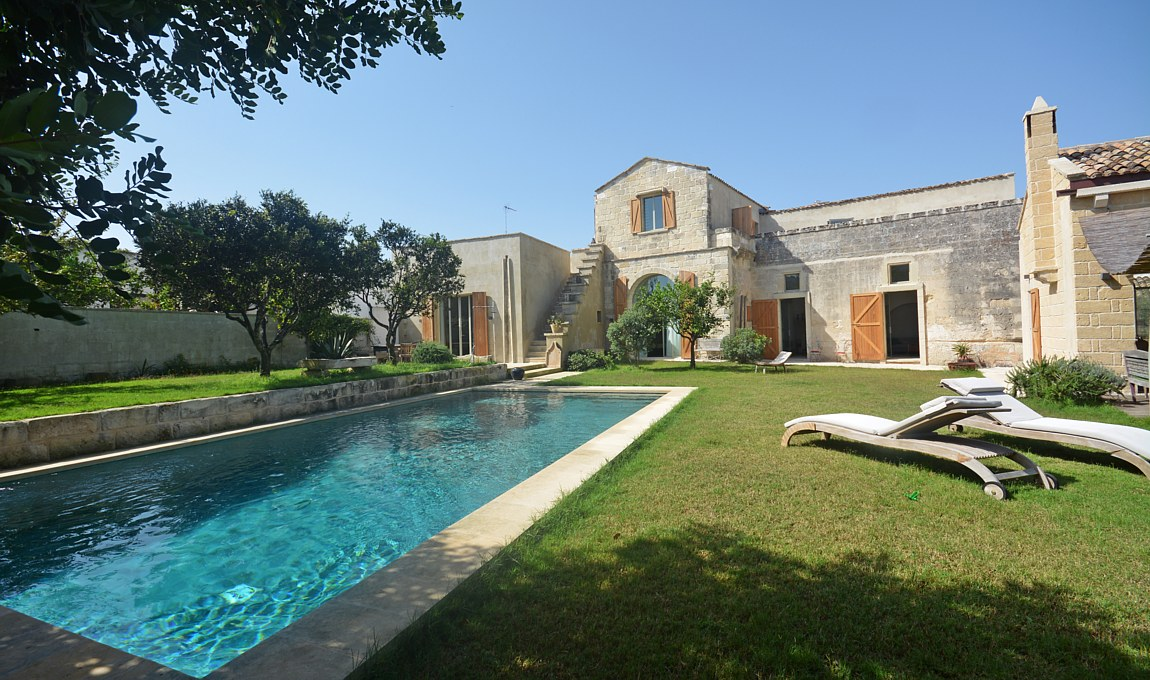 Villa Palmento Garden swimming pool - salento
