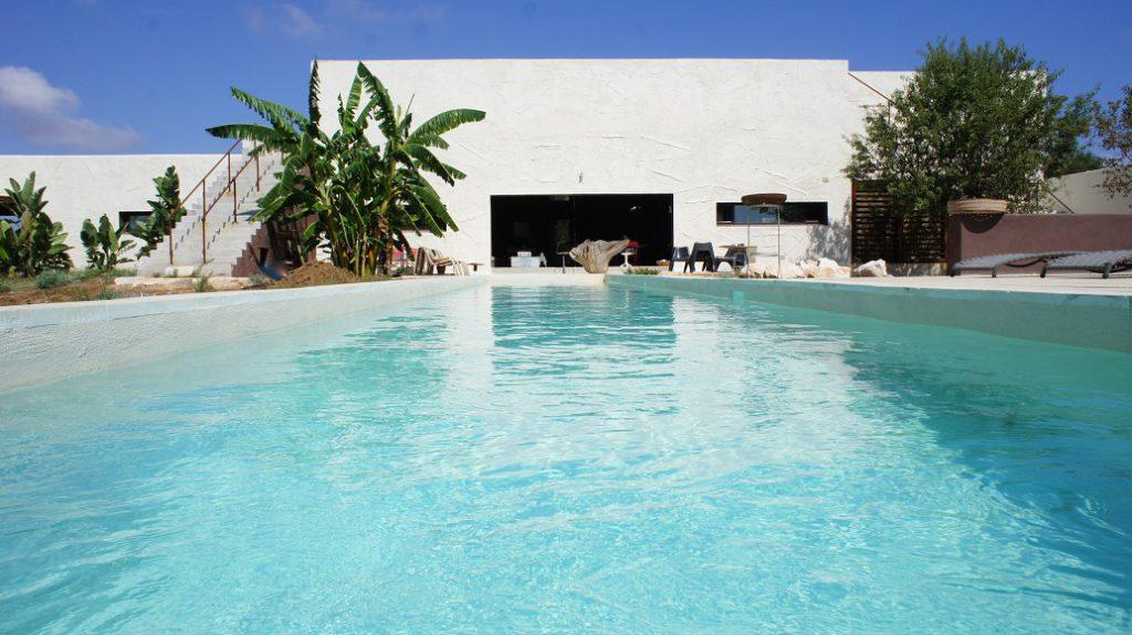 masseria con piscina villa caroma