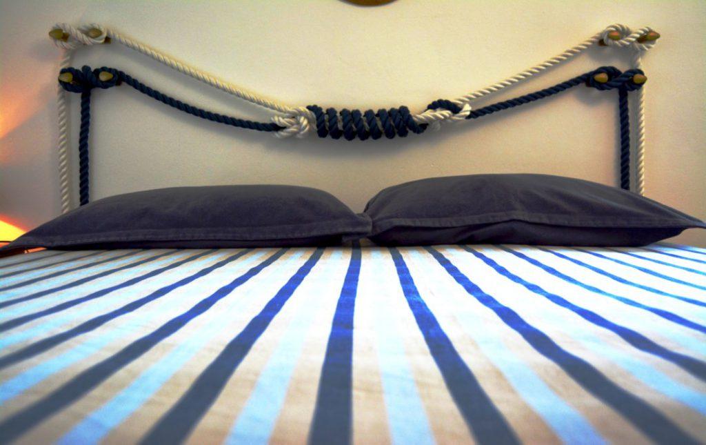 Casa Rivamarina main house double bedroom (8)