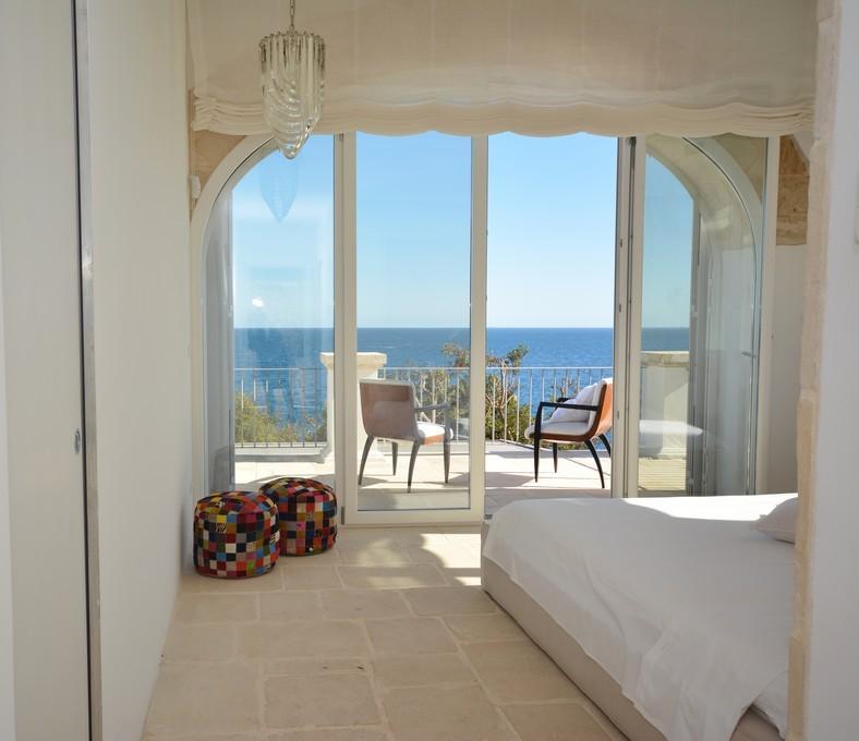 Stanza vista mare Villa Conchiglia