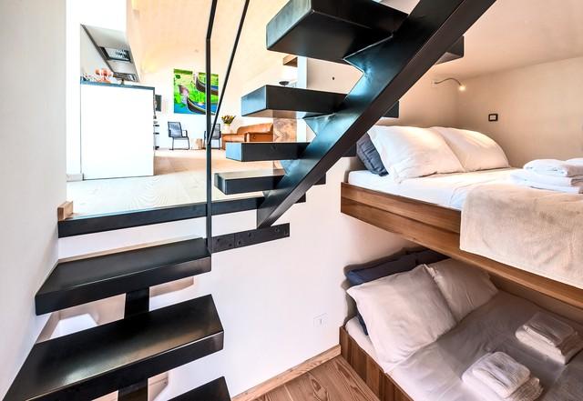 Come far diventare di lusso una casa di pochi metri quadrati for Scala metri quadrati