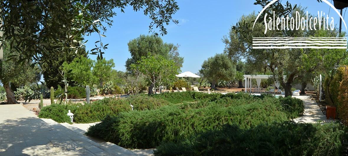 Giardino di Villa Mirea, Santa Caterina, Gallipoli  - salento