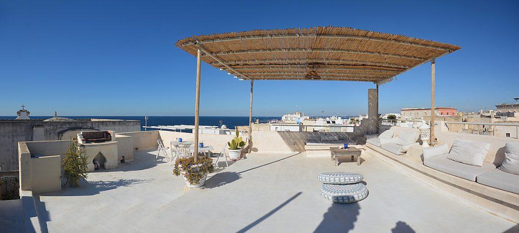 terrazza salento - affitto casa calischia