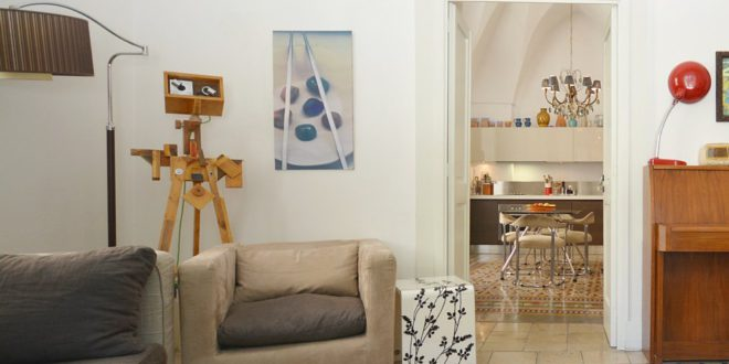 Art in Loft: accommodations rich in art and amenities for your next travel