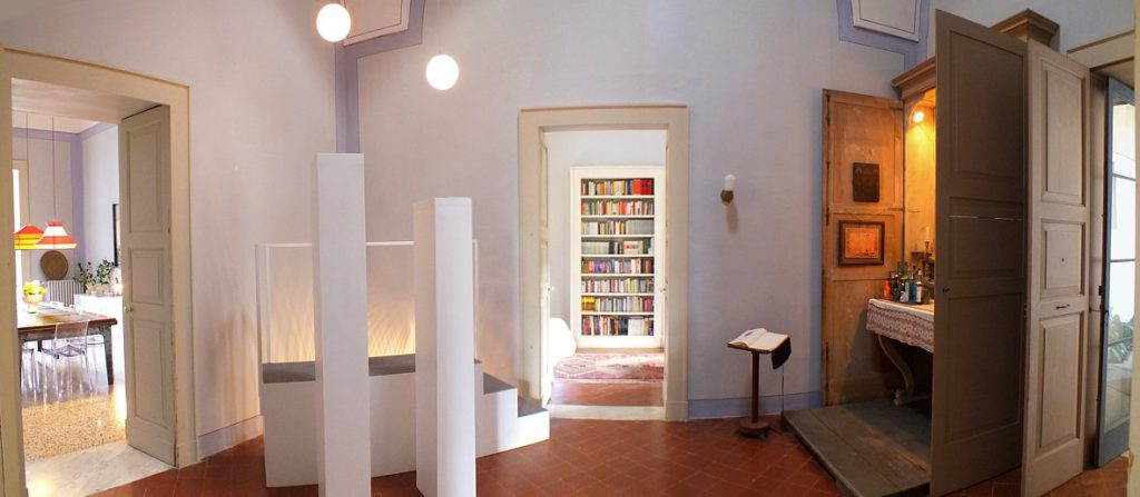 atrio anticamera Palazzo Altieri, Salento