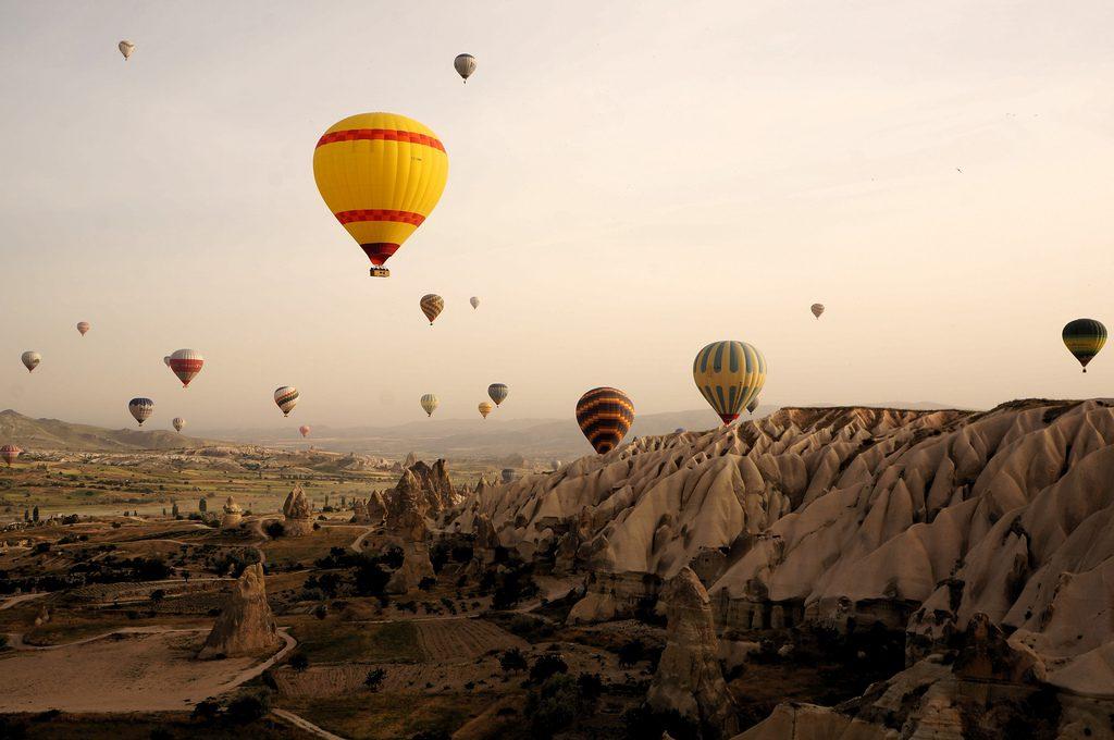 sposarsi in cappadocia in mongolfiera