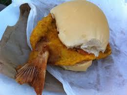cuba fish burger
