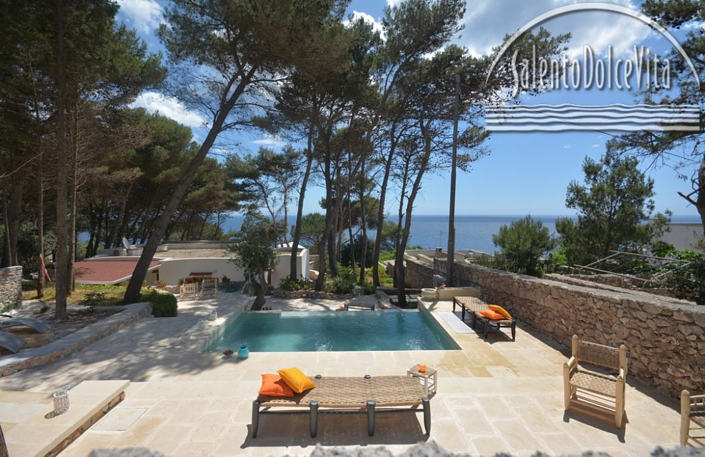 Castro, villa Il Faro - booking@salentodolcevita.com