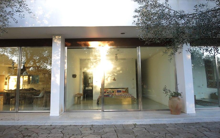 Villa Il grillo, esterni e camera da letto - booking@salentodolcevita.com