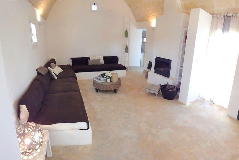 Villa White Lamia, interior. booking@salentodolcevita.com