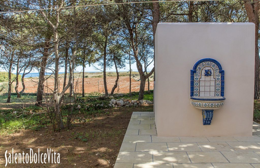 Dettaglio esterni casa Kalamuri. booking@salentodolcevita.com