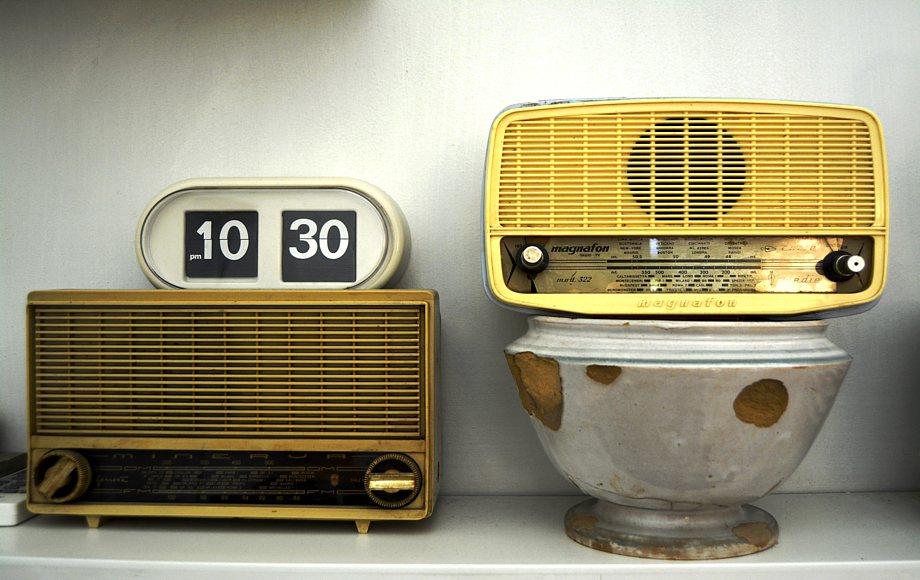 dettaglio casa Pagoda. radio antiche