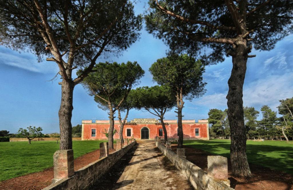Masseria iside facciata