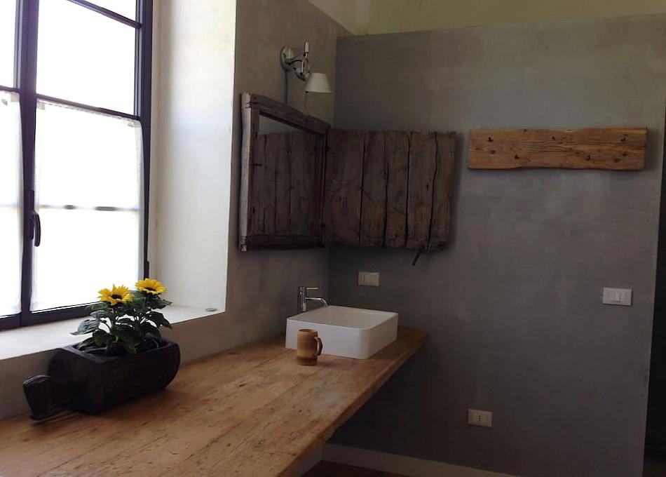 Masseria Iside, dettaglio bagno di una delle suite. booking@salentodolcevita.com