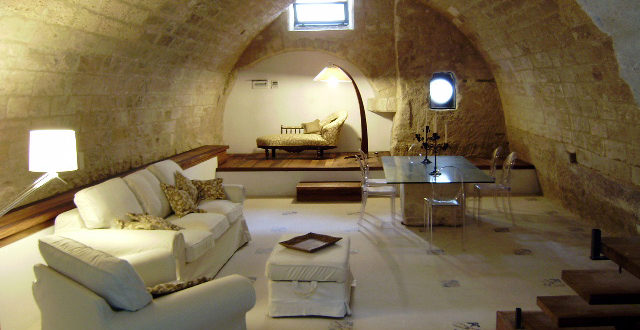 Design and historical center: five houses in the ancient heart of Lecce