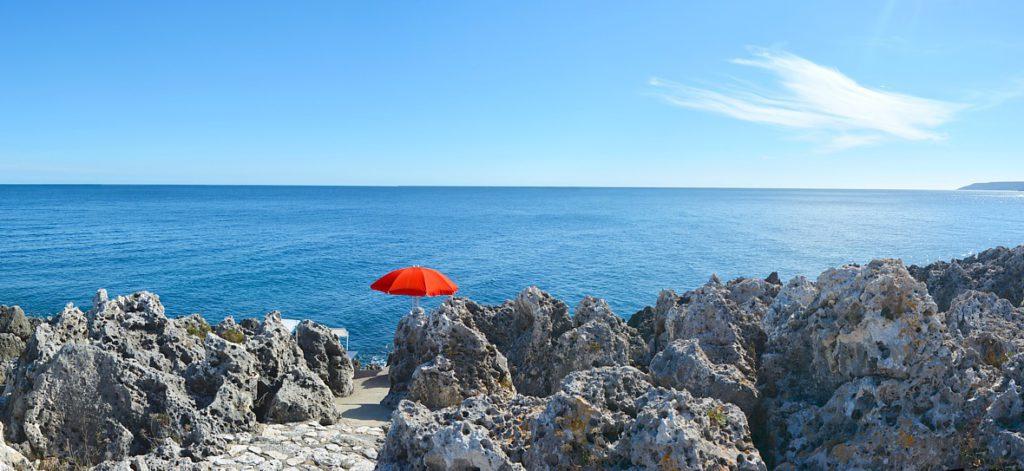 accesso al mare villa conchiglia