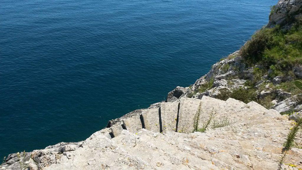 Accesso al mare, Villa Le Sciarre, Castro