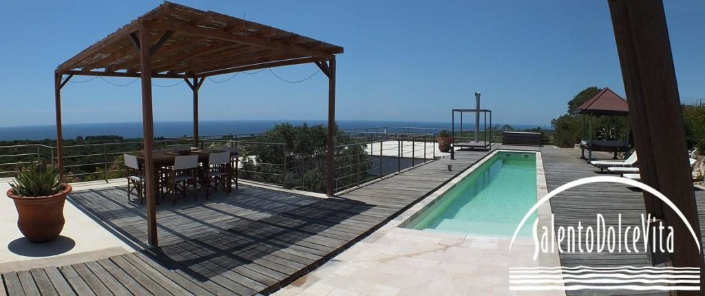 Villa Petra piscina panoramica nel salento