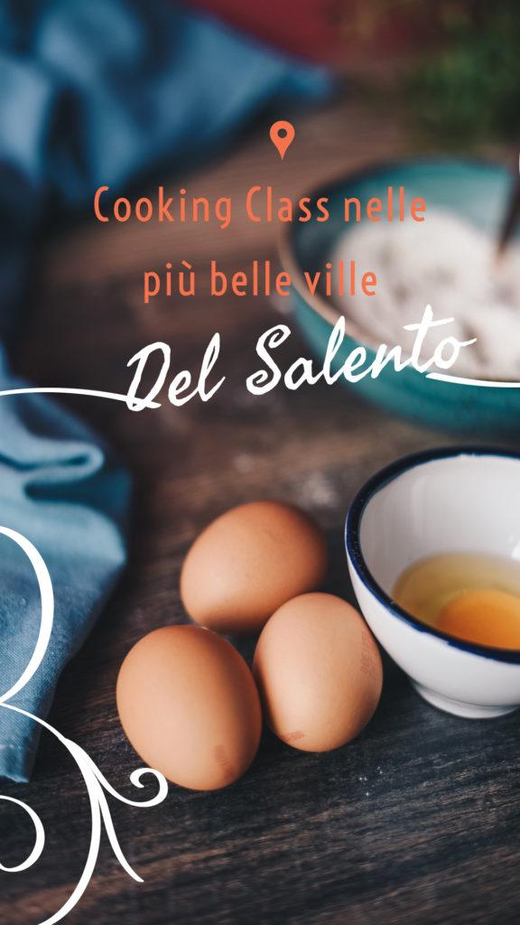 Cooking Class nelle più belle ville Del Salento