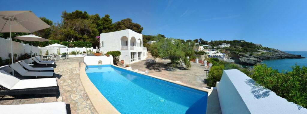 villa in affitto in salento- villa nova - piscina vista mare