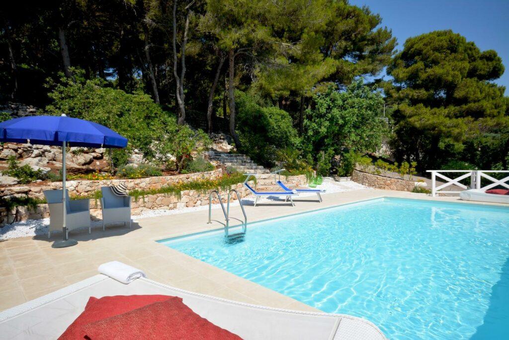 villa nel Salento - piscina villa le macchie