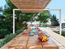 Les espaces conviviaux, le plaisir de la table et de la relation