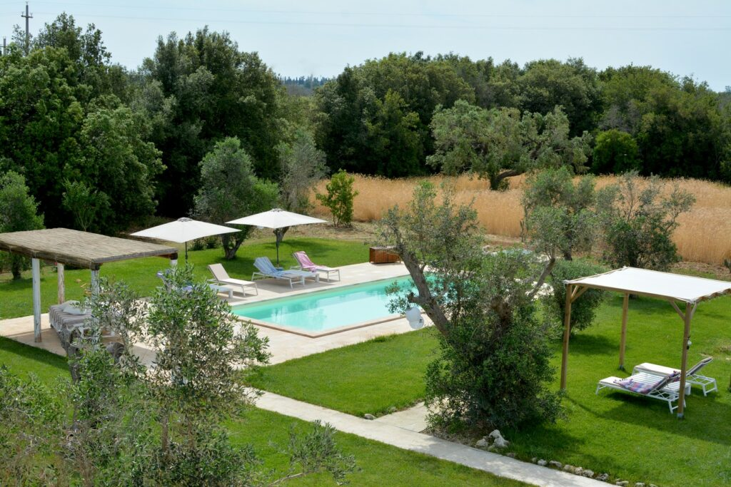 Villa con piscina nel salento campagna