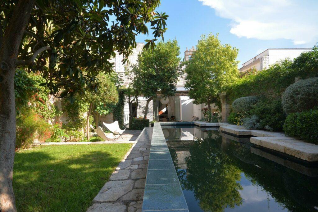 casa vacanze con giardino e piscina