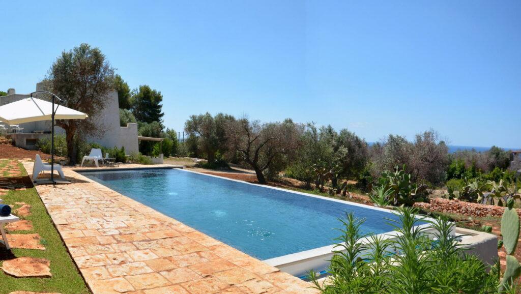 villa maria piscina uliveto salento