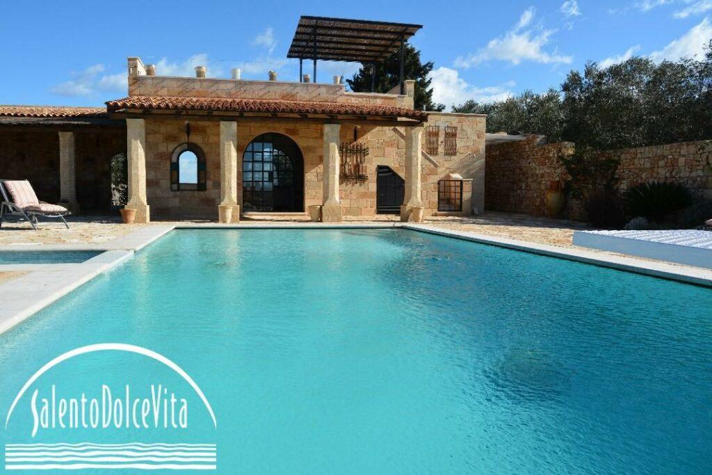 masseria con piscina e sauna salento