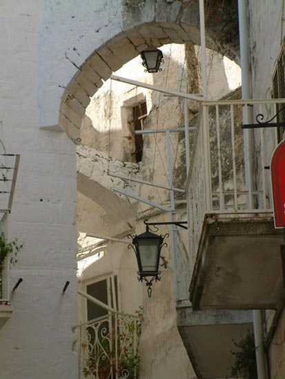 Alley in Ostuni