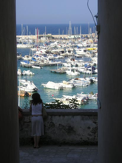 Otranto, panoramic view