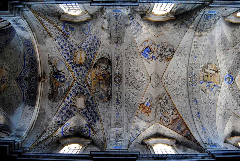 Sternatia, the ceiling of the Church