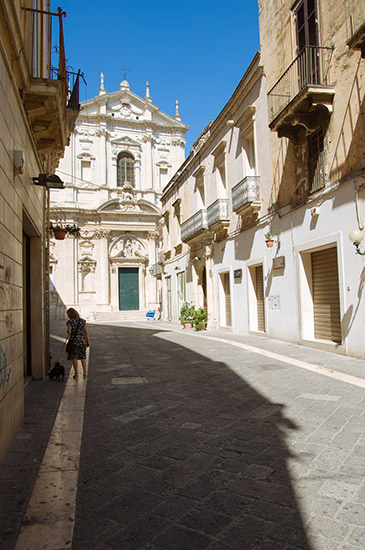 Old town of Lecce