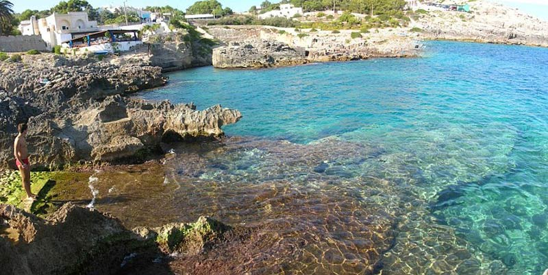 Leuca, the coast