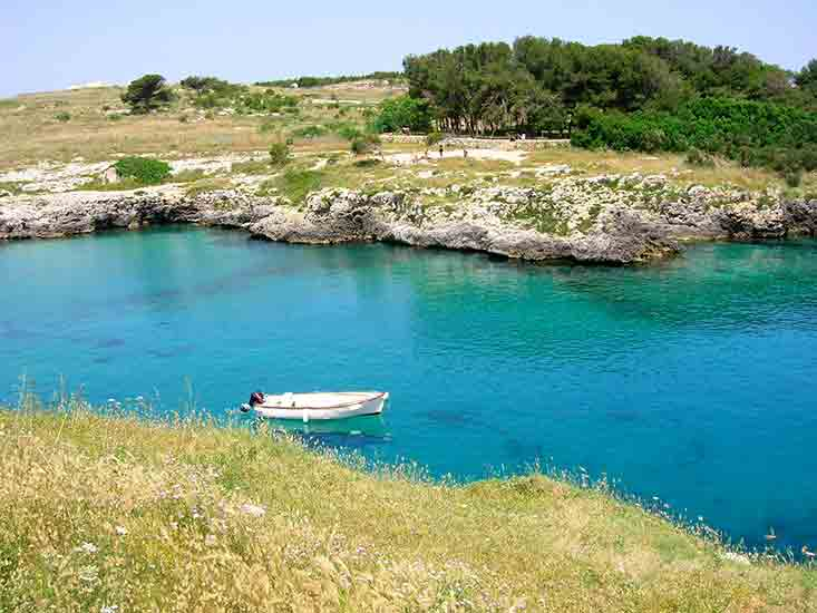 Porto Badisco Bay