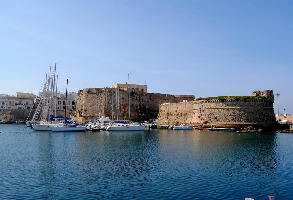 gallipoli il castello