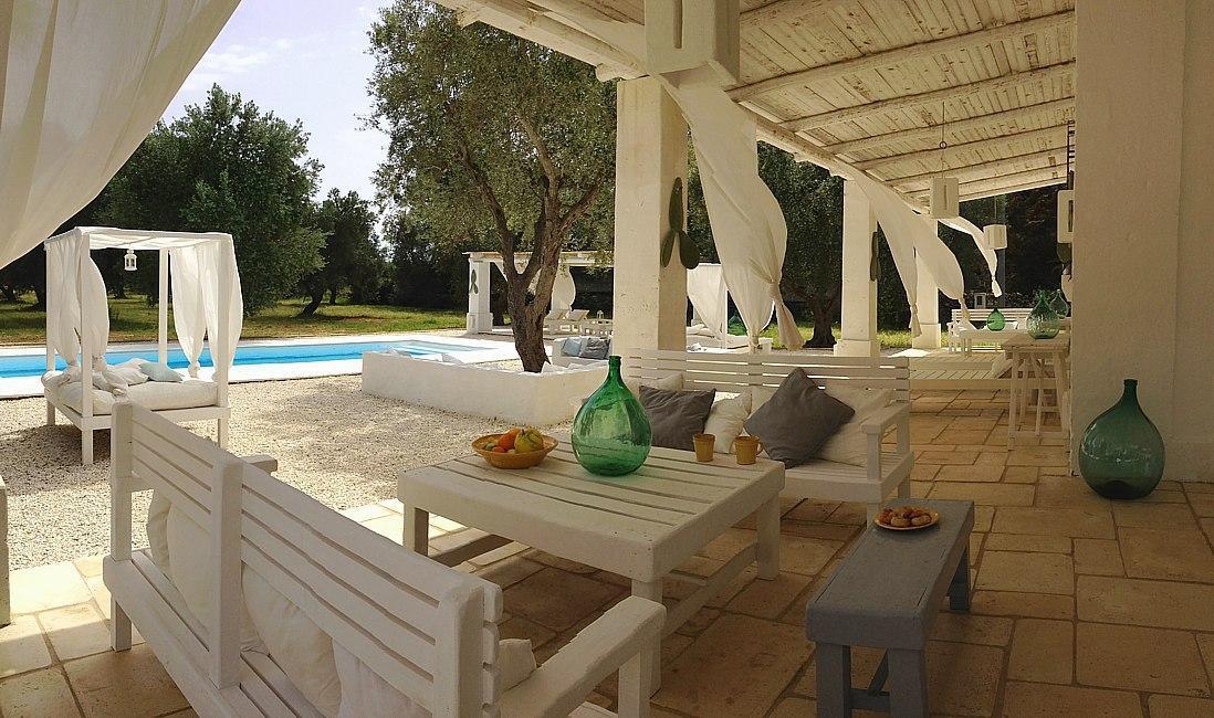 Salento affitti masseria con piscina poco distante dalle spiagge di sabbia - Masseria con piscina salento ...